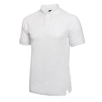 Poloshirt wit | Unisex | Maat S-XL