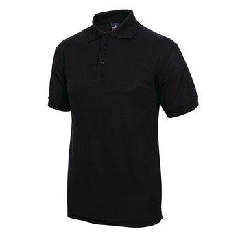 Poloshirt zwart | Unisex | Maat S-XL