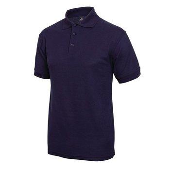 Poloshirt donkerblauw | Unisex | Maat S-XL