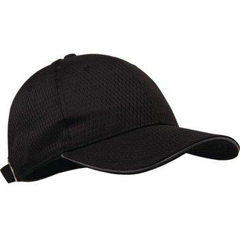 Baseball cap - Zwart en grijze kleur - universele maat