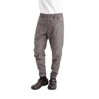 Koksbroek Urban Jogger zwart wit gestreept | Unisex Maat S-XL