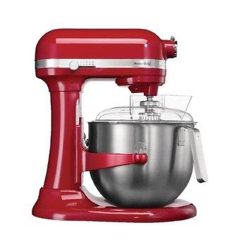 KitchenAid Professionele keukenmixer met schenkscherm - rood - 6,9 liter