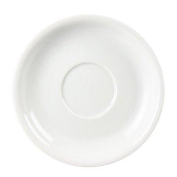 Schotel voor cappuccinokop porselein 30cl | Per 12 stuks