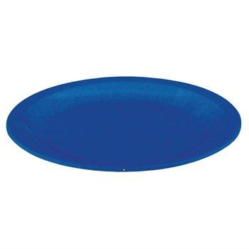 Polycarbonaat borden blauw | 12 stuks | Ø17,2cm