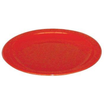 Polycarbonaat borden rood | 12 stuks | Ø23cm