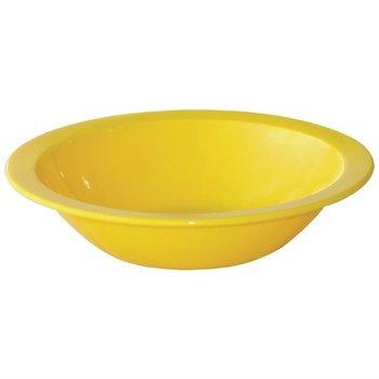 Polycarbonaat dessertschaaltjes geel | 12 stuks | Ø17,1cm