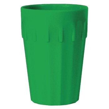 Stapelbare polycarbonaat bekers groen | 12 stuks | 26cl
