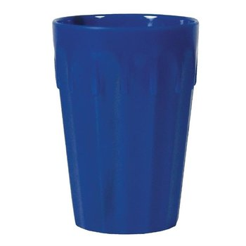 Stapelbare polycarbonaat bekers blauw | 12 stuks | 26cl
