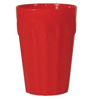 Stapelbare polycarbonaat bekers rood | 12 stuks | 26cl