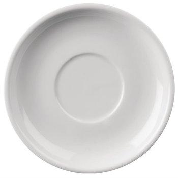 Schotel porselein Athena - 14cm - voor soepkom/koffie - per 24 stuks
