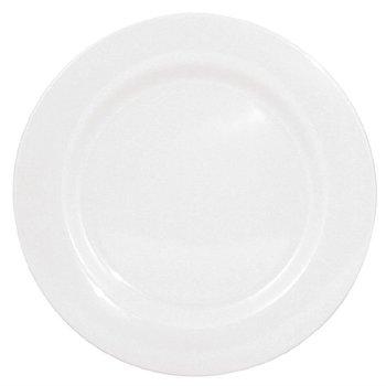 Melamine bord met brede rand | Per 6 stuks | Ø25,4cm