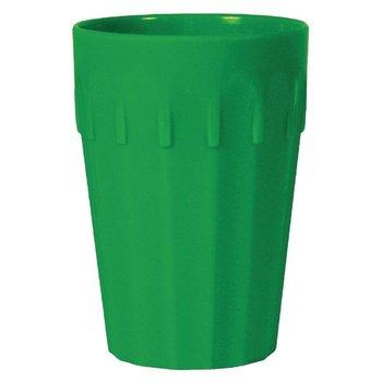 Stapelbare polycarbonaat bekers groen | 12 stuks | 14cl
