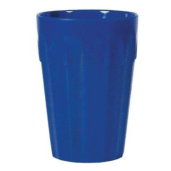 Stapelbare polycarbonaat bekers blauw | 12 stuks | 14cl