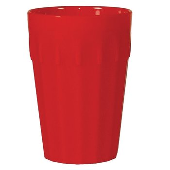 Stapelbare polycarbonaat bekers rood | 12 stuks | 14cl
