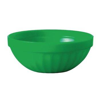 Stapelbare polycarbonaat fruitschalen groen | 12 stuks | Ø10cm