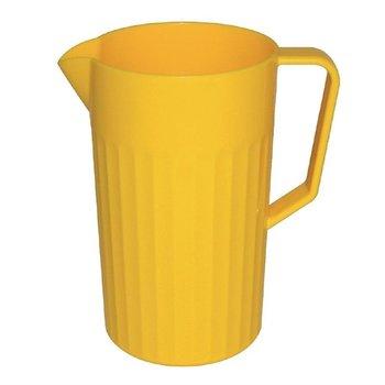 Schenkkan polycarbonaat geel | 1,4 liter