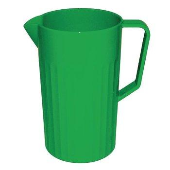 Schenkkan polycarbonaat groen | 1,4 liter