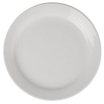 Bord porselein Athena - smalle rand - 16,5cm - per 12 stuks