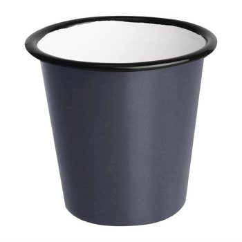 Sauspotje - retro stijl - grijs/zwart - 6 stuks