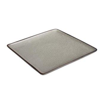 Vierkant bord 26,5x26,5cm - Olympia Mineral - steen look - per 4 stuks