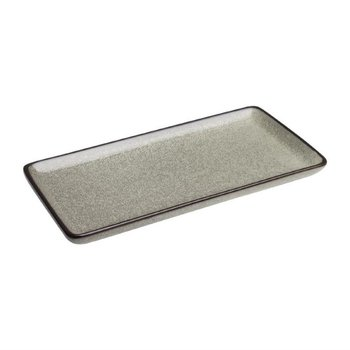 Rechthoekig bord 23x12cm - Olympia Mineral - steen look - per 6 stuks