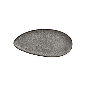 Ovalen schotel 30,5x14,5cm - Olympia Mineral - steen look - per 6 stuks