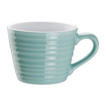 Koffiemokken aqua Olympia porselein | 6 stuks | 23cl