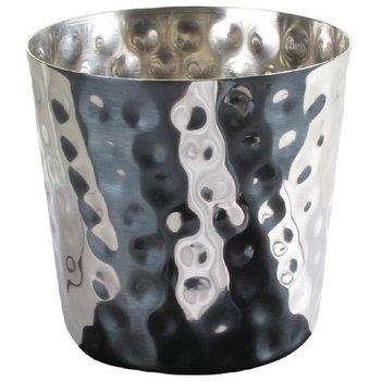 RVS beker voor frites - (H)8,5cm