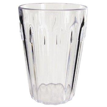 Stapelbare polycarbonaat bekers transparant | 12 stuks | 14cl