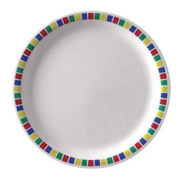 Melamine borden Fairground | Per 12 stuks | Ø23cm