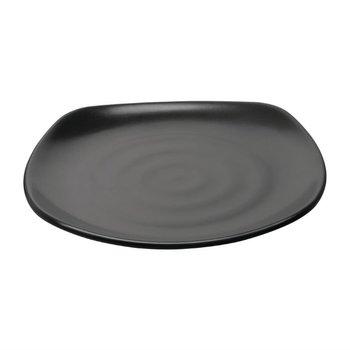 Borden met ronde hoeken melamine Fusion - Per 6 stuks - Ø25cm