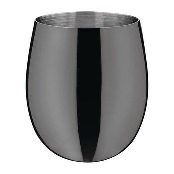 Cocktailbeker RVS zwart - 34cl