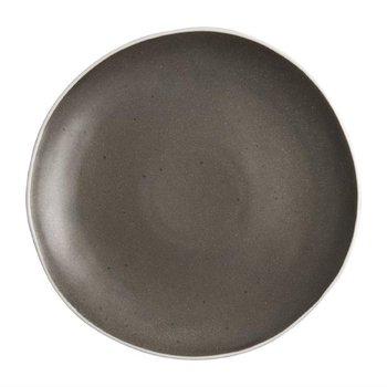 Bord Chia porselein grijs   Per 6 stuks   Ø27cm