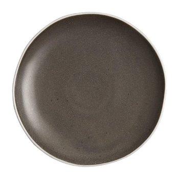 Bord Chia porselein grijs   Per 6 stuks   Ø20,5cm