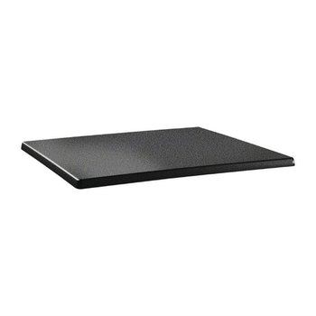 Tafelblad Classic Line - rechthoekig 110x70cm - antraciet