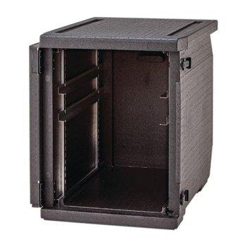 Geïsoleerde voedselcontainer 155 liter met verstelbare rails Cambro - 60x40