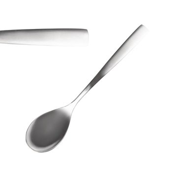 Dessertlepel - Comas Satin -RVS 18/0 - per 12 stuks