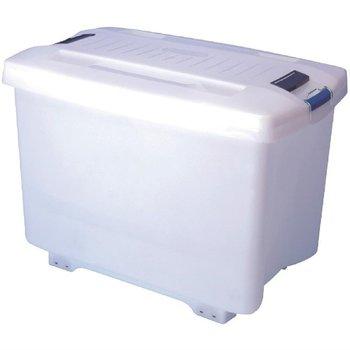Voorraadcontainer met wielen en kleurcodering - 90 liter