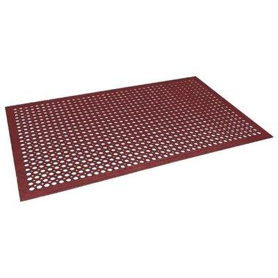 Antivermoeidheidsmat rood - 150x90cm