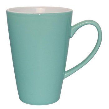 Latte bekers Olympia Café porselein - aqua - 12 stuks - 34cl
