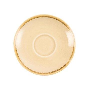 Schoteltje voor espresso 11,5cm - Olympia Kiln - zandsteen - per 6 stuks
