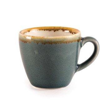 Espressokopje 8,5cl - Olympia Kiln - blauw - per 6 stuks