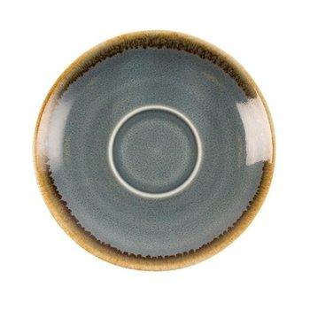 Schoteltje voor espresso 11,5cm - Olympia Kiln - blauw - per 6 stuks