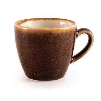 Espressokopje 8,5cl - Olympia Kiln - bruin - per 6 stuks