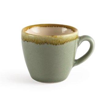 Espressokopje 8,5cl - Olympia Kiln - mosgroen - per 6 stuks