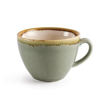 Koffiekopje 23cl - Olympia Kiln - mosgroen - per 6 stuks