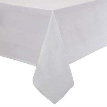 Tafellinnen - Satin Band - wit 100% katoen - verkrijgbaar in 10 maten