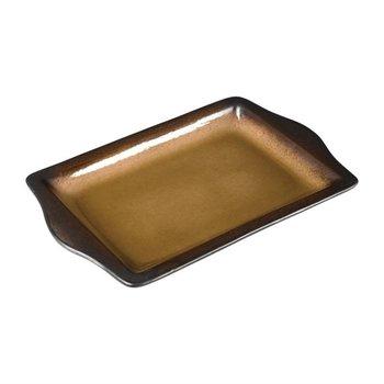 Rechthoekige tapas schaal 28,3x17,8cm - Olympia Nomi - geel - per 6 stuks