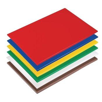Set snijplanken anti-bacterie - 46x30x1,2cm - 6 stuks