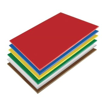 Snijplanken LPDE antibacterieel - set 6 stuks - 450x300x10mm